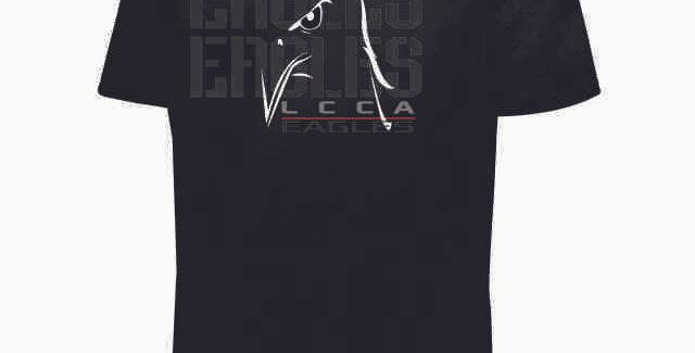 LCCA Black Eagles Shortsleeve Dri Fit