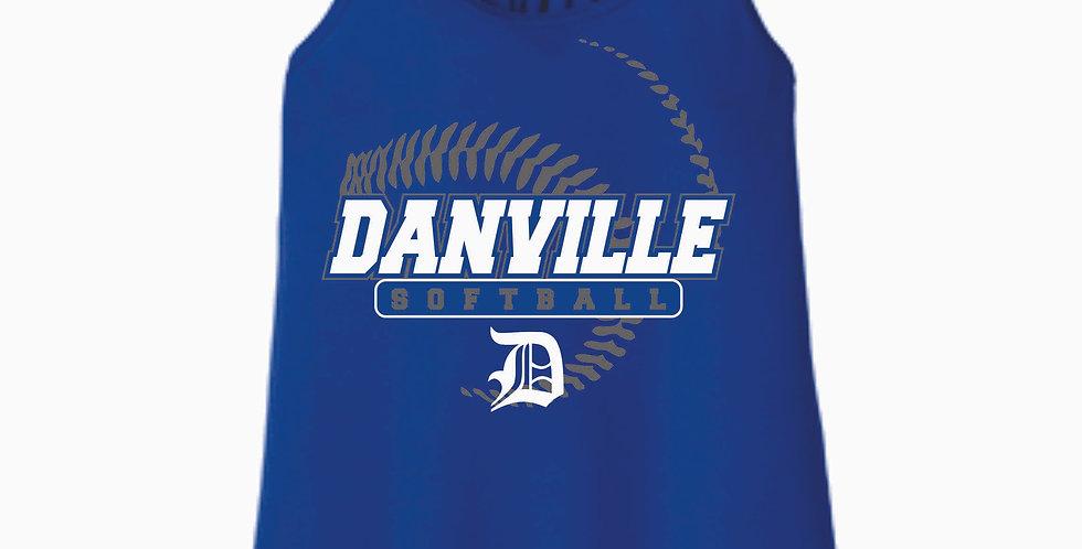 Danville Softball Royal Women's Tank