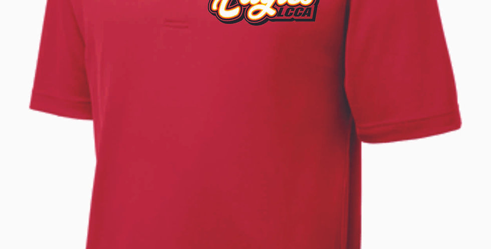 LCCA Red Polo