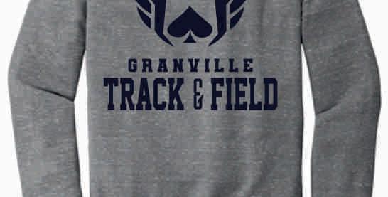 Granville Track and Field Original Grey Soft Crewneck
