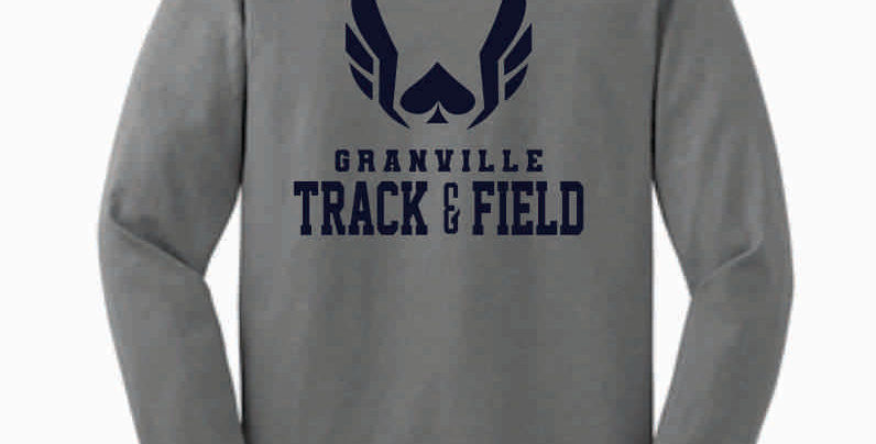 Granville Track and Field Original Grey Longsleeve