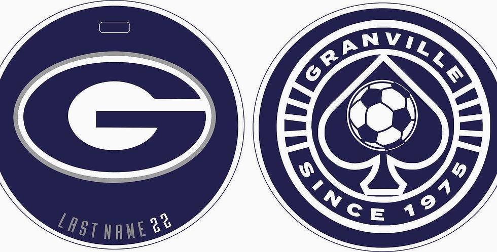 Granville Soccer Bag Tag