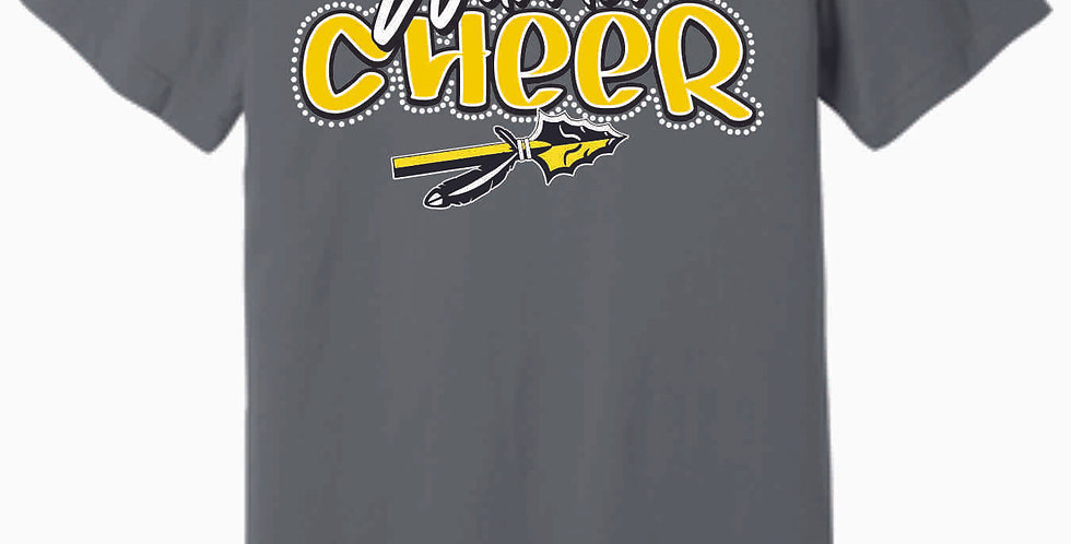 SWLYFC Cheer Grey Soft T Shirt