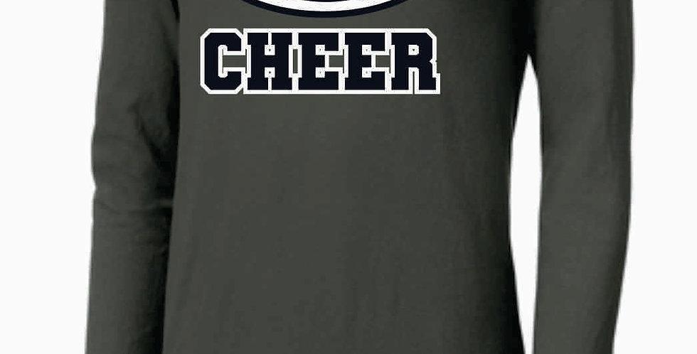 GHS Cheer Generic Grey Nike Core Cotton Long Sleeve