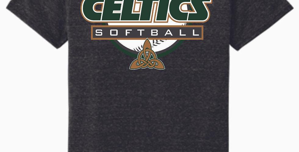 Dublin Jerome Softball Black Soft T Shirt