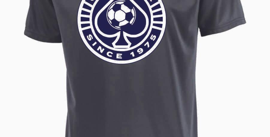 Granville Soccer Grey Dri Fit Shortsleeve