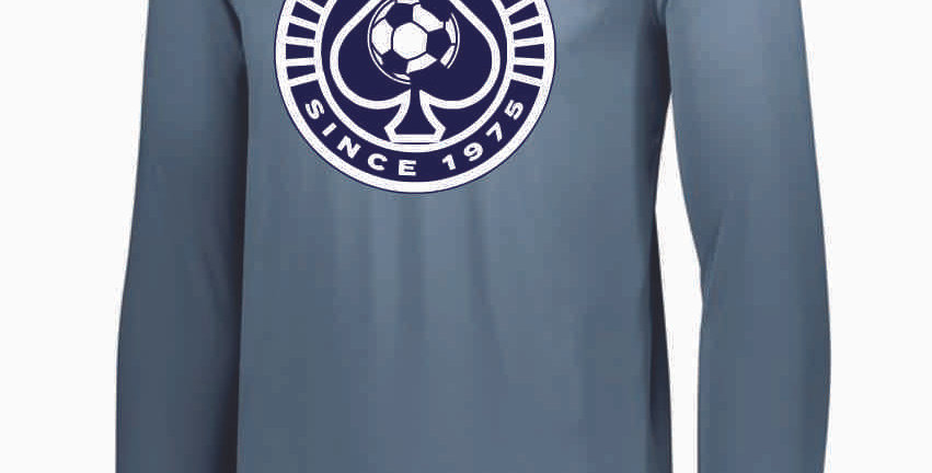 Granville Soccer Grey Longsleeve Dri Fit