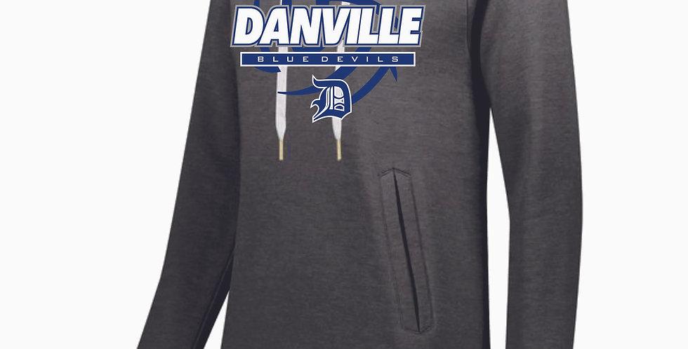 Danville Volleyball Ladies Grey Hood