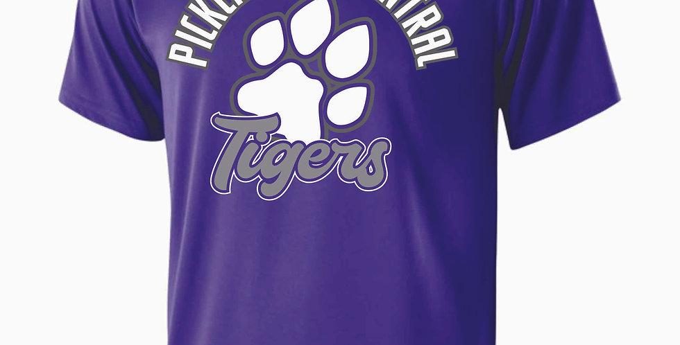 Tiger Generic Purple Shortsleeve Dri Fit