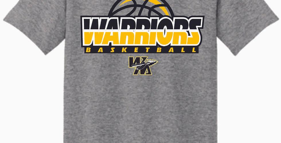 Watkins Youth Basketball Grey Cotton T Shirt