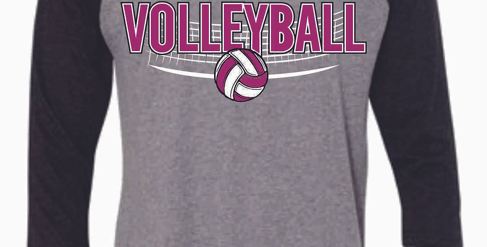 Aces Volleyball Original 3/4 Length Tee