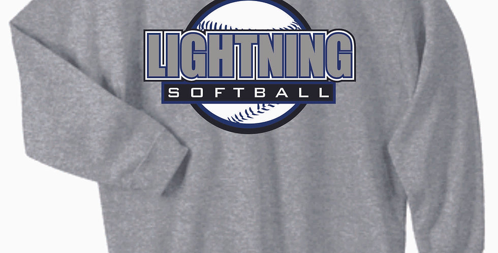 Lightning Grey Cotton Crew