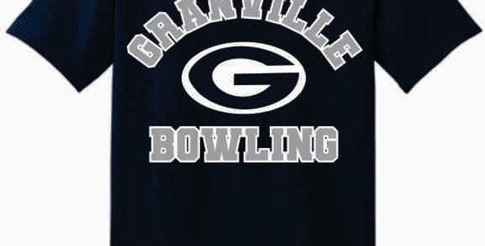 GHS Bowling Navy Generic Cotton T-Shirt