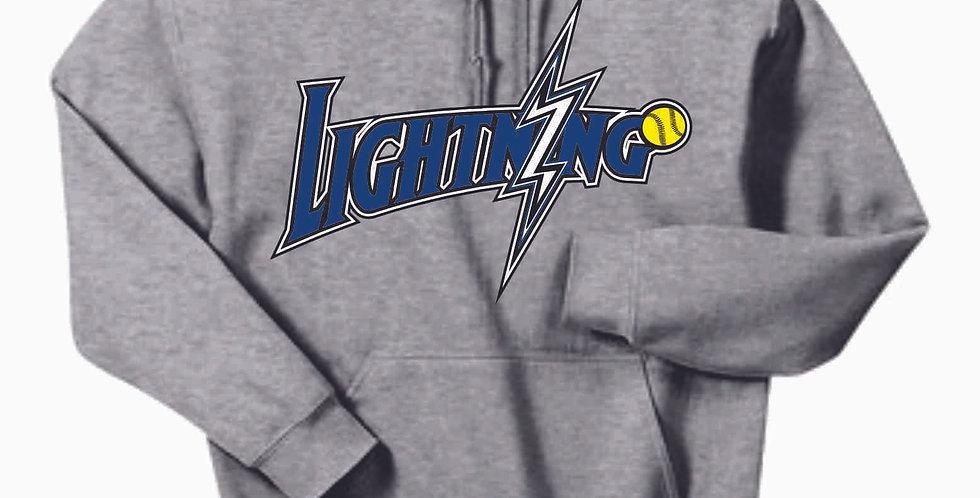Lightning Grey Cotton Hoody