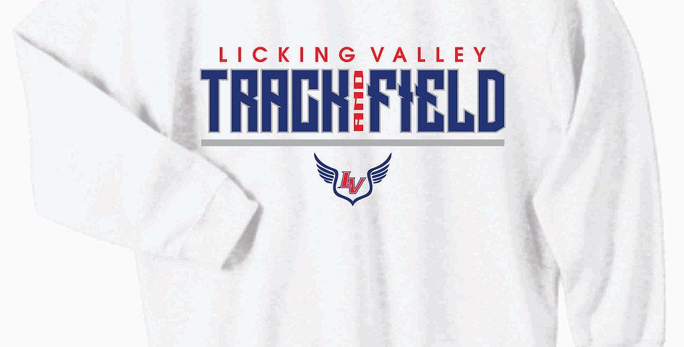 Licking Valley Gildan Cotton White Crewneck