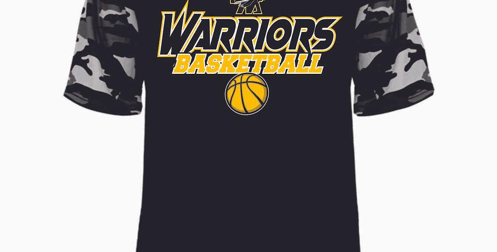 Watkins Youth Basketball Black Digi Camo Dri Fit Tee