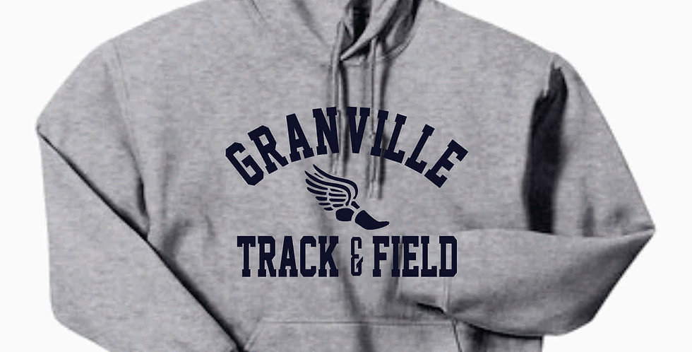 Granville Track and Field Grey Hoody