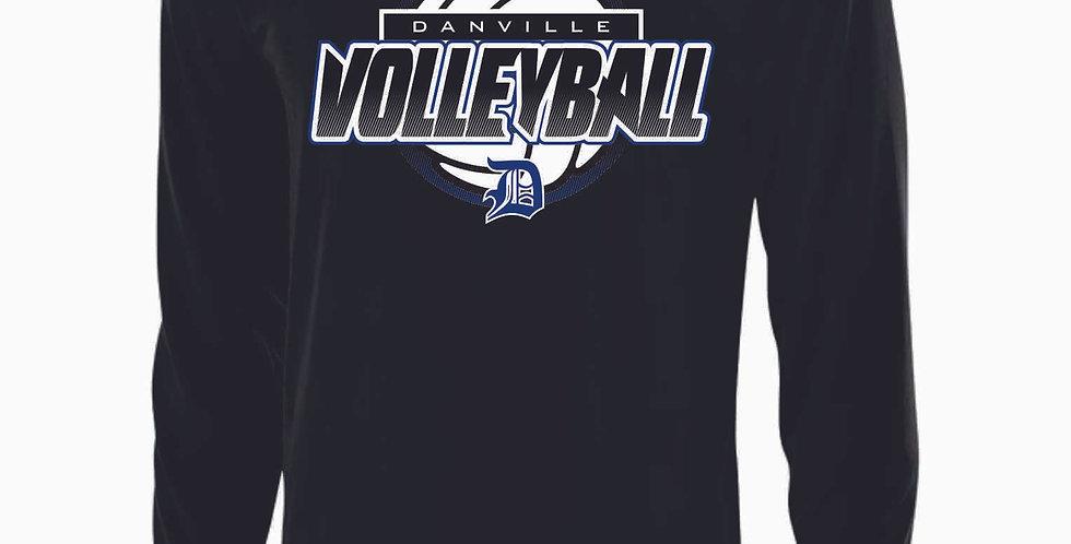 Danville Volleyball Black Longsleeve Dri Fit