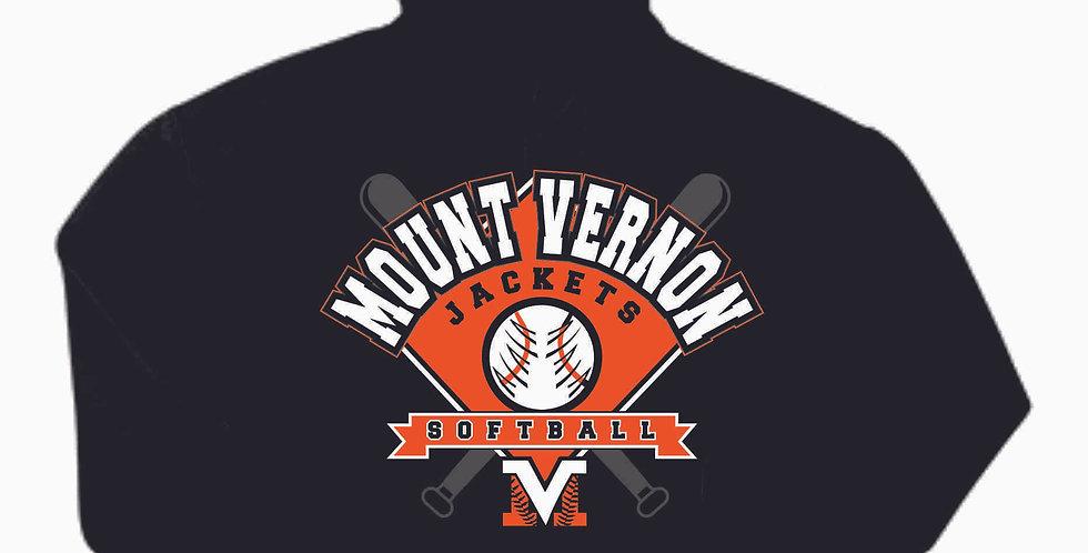 Mount Vernon Black Hoody