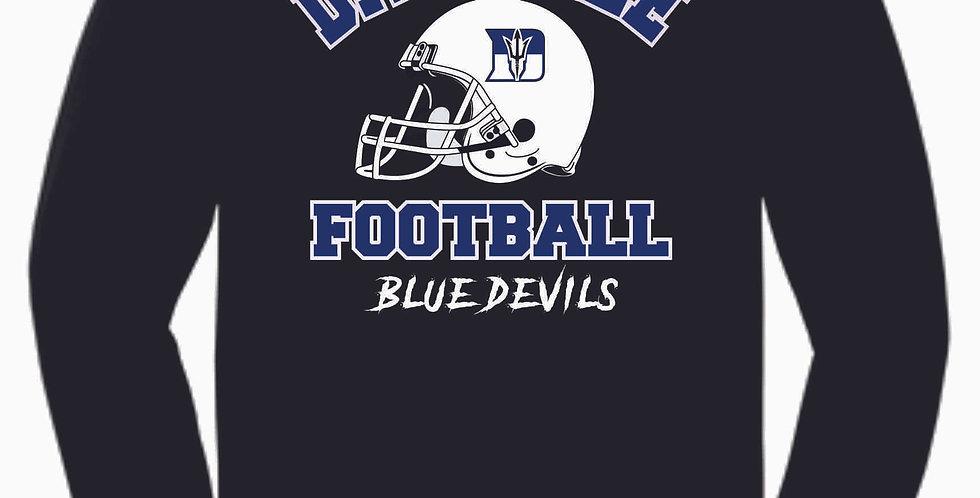 Danville Football Black Generic Cotton Longsleeve