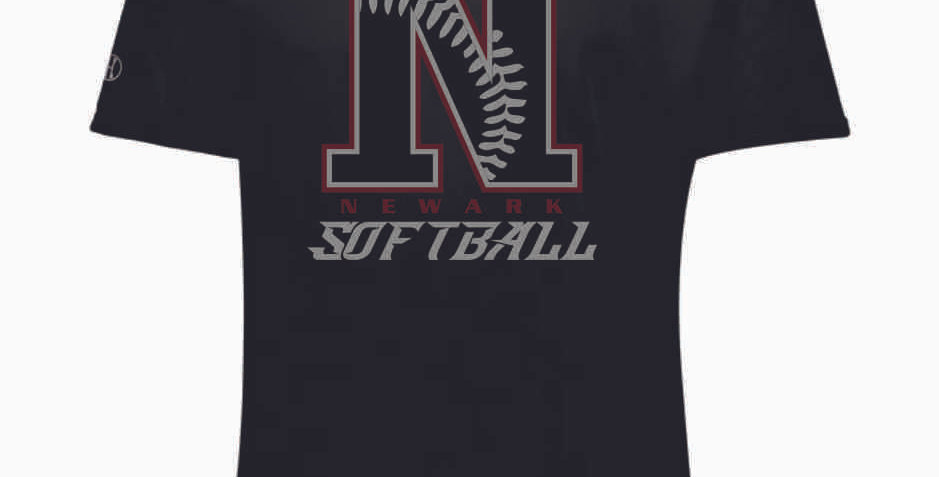 Newark Softball Black Shortsleeve Dri Fit