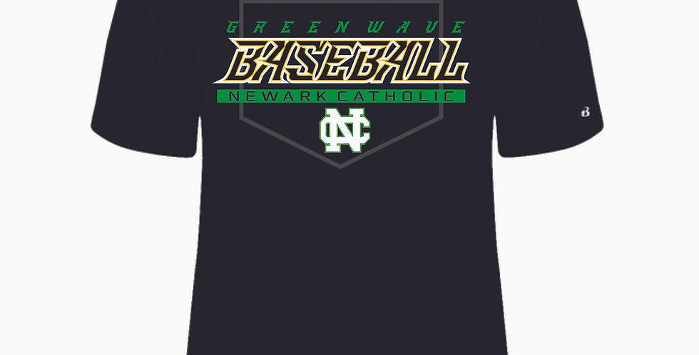 Newark Catholic Baseball Black Shortsleeve Dri Fit