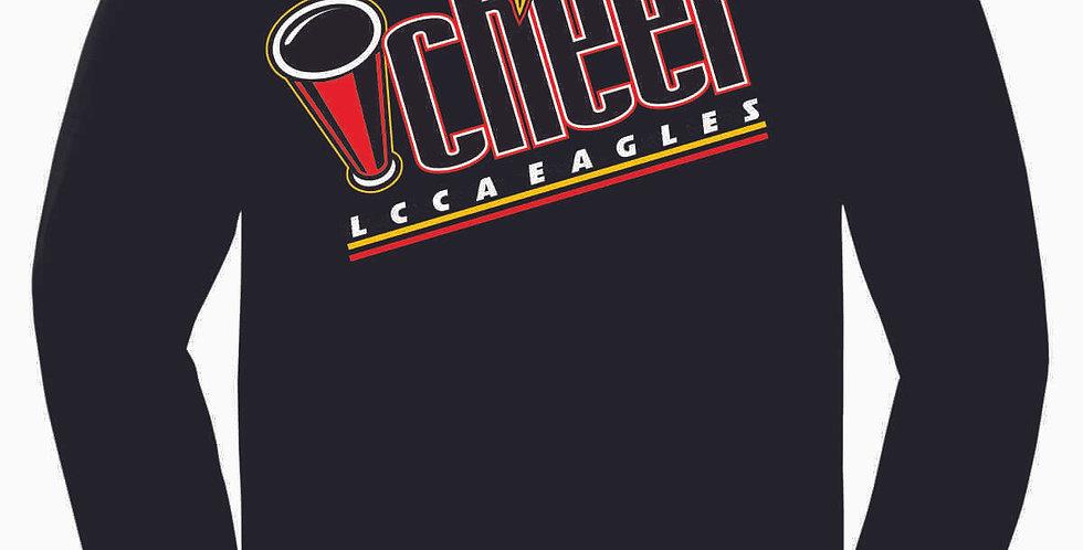 LCCA Black Cheer Cotton Longsleeve Tee