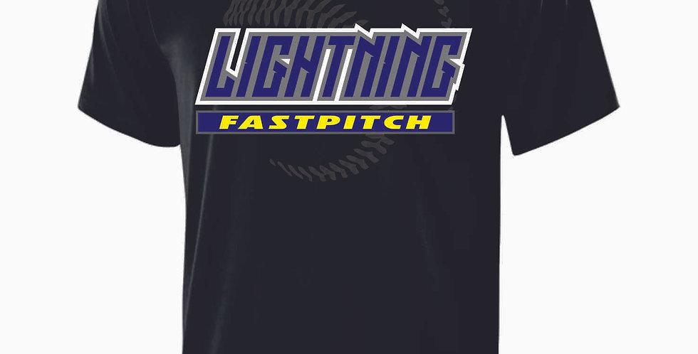 Lightning Black Shortsleeve Dri Fit