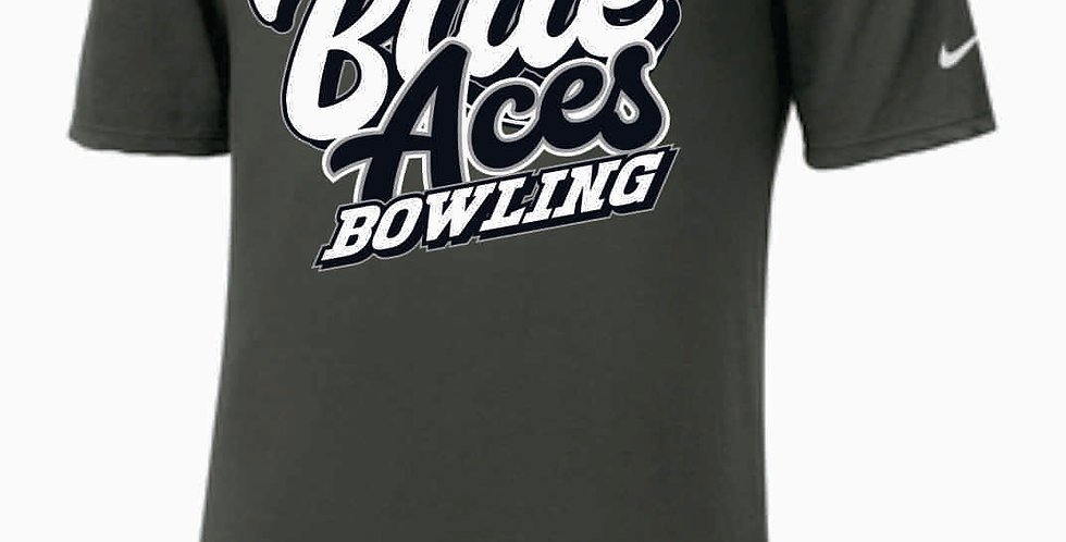 GHS Bowling Grey Nike Dri-Fit Cotton/Poly T-Shirt