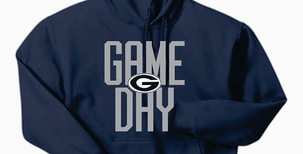 Blue Aces Navy Game Day Gildan Cotton Hoody