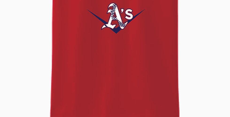 A's Baseball Red Cotton T Shirt