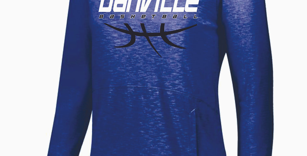 Danville Basketball Royal Thin Cotton Hoody