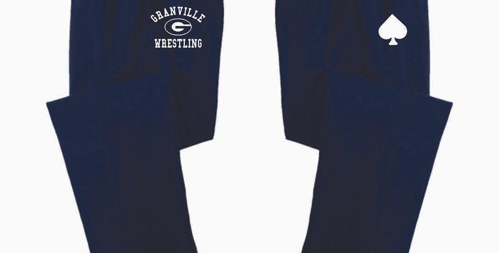 Granville Wrestling Navy Cotton Sweatpant