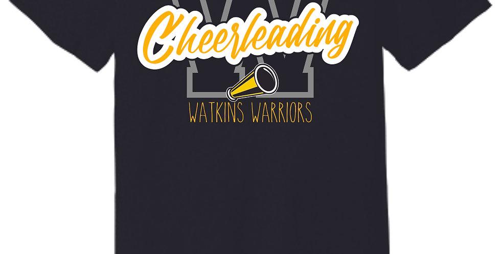Watkins Cheer Black Soft T Shirt