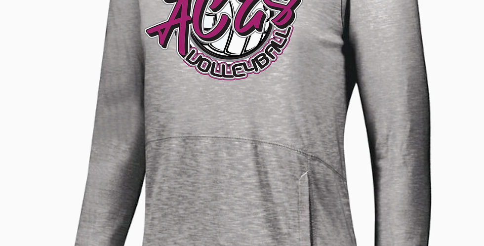 Aces Volleyball Holloway Script Journey Hood