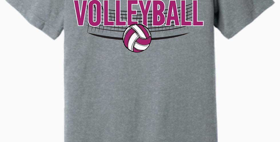 Aces Volleyball Bella Canvas Practice Soft Grey T shirt