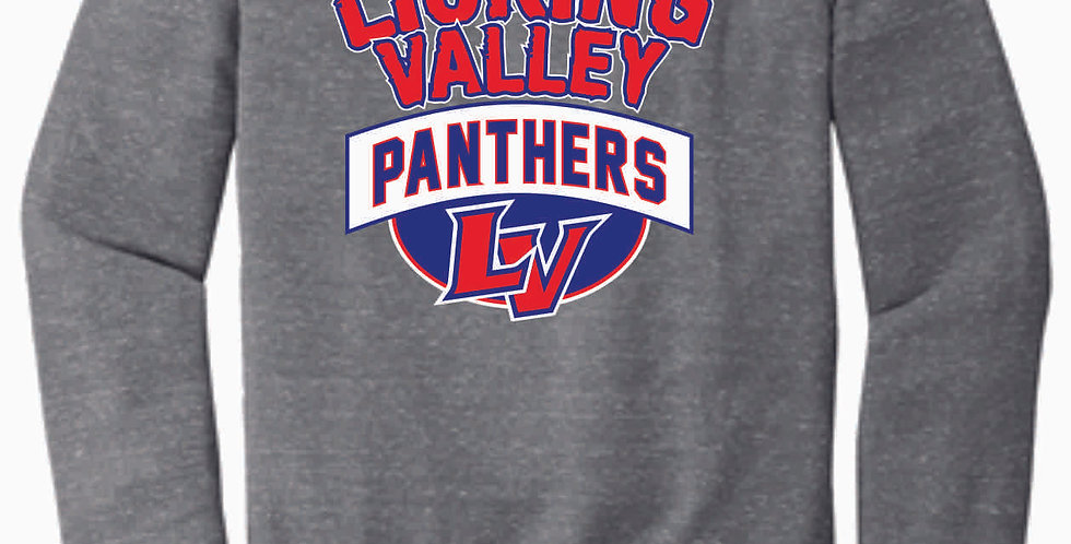 Licking Valley Grey Soft Crewneck