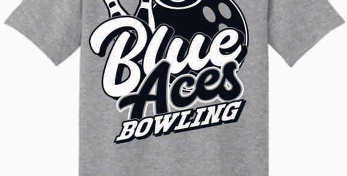 GHS Bowling Grey Cotton T-Shirt