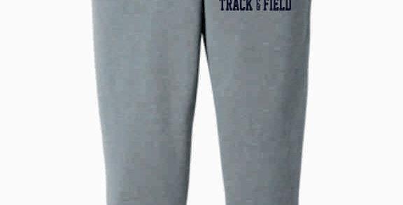 Granville Track and Field Grey Bella Canvas Joggers