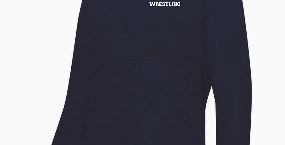 Granville Wrestling Navy Ladies 1/4 Zip Pullover