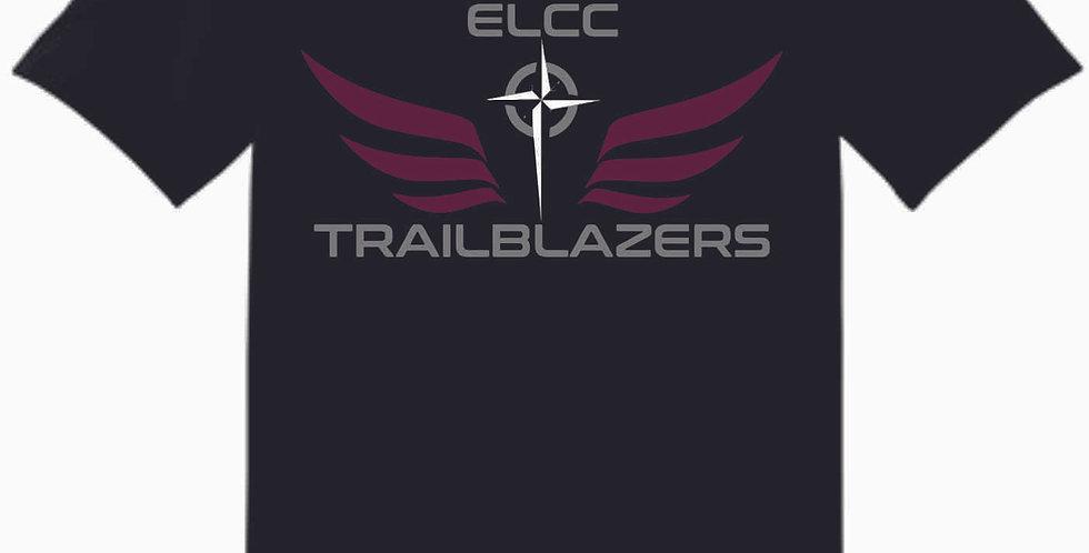 ELCC Basketball Black T Shirt