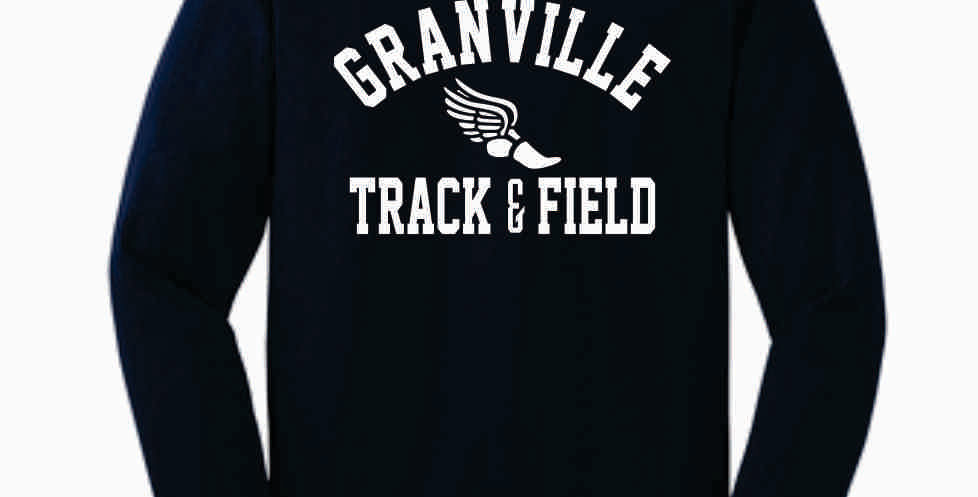Granville Track and Field Navy Longsleeve