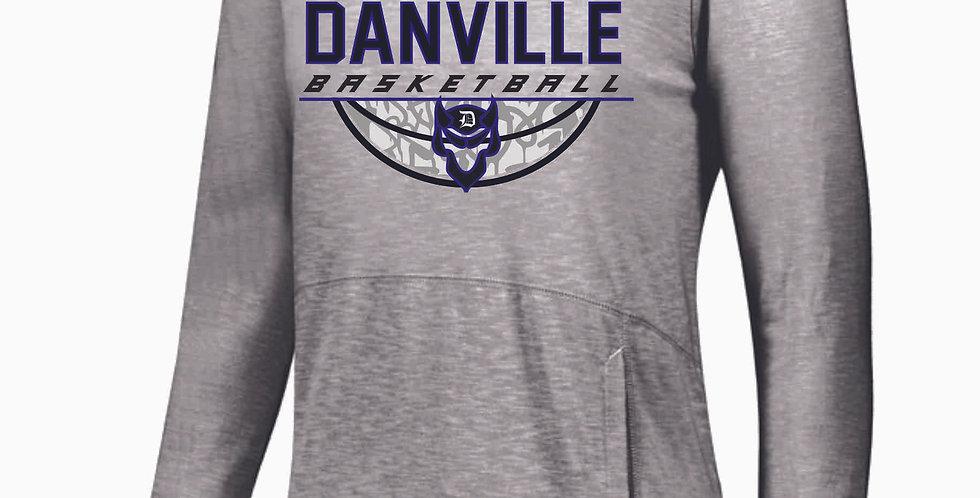 Danville Basketball Grey Thin Cotton Hoody