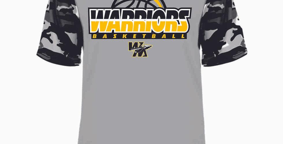 Watkins Youth Basketball Grey Digi Camo Dri Fit Tee