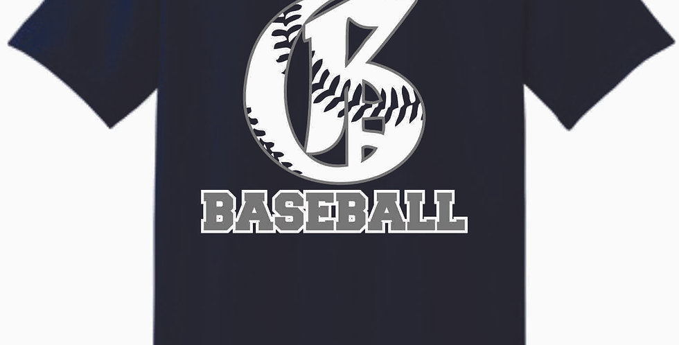 Granville Baseball Navy Cotton T Shirt