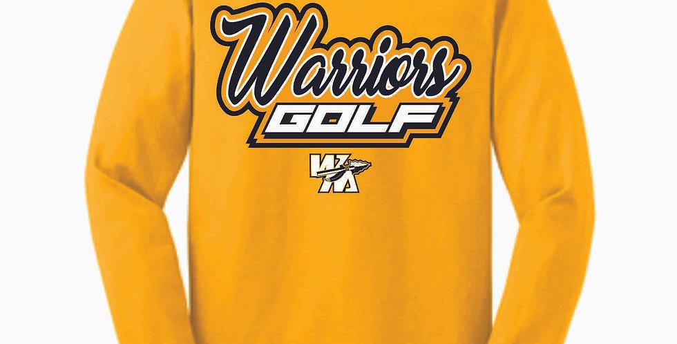 Watkins Golf Gold Cotton Longsleeve T Shirt