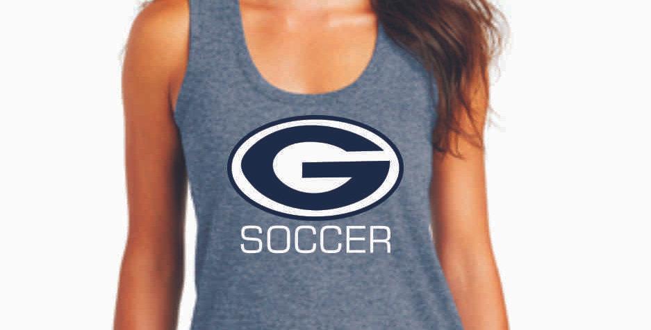 Granville Soccer Navy Women's Tank