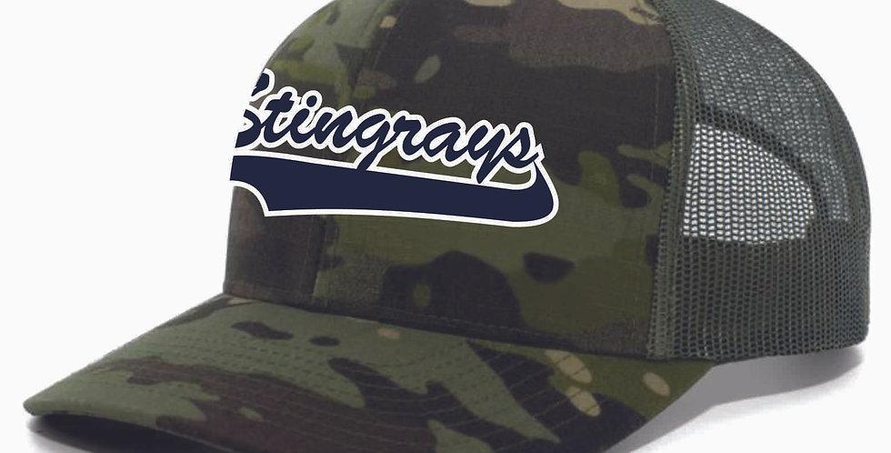 Stingray Camo Snapback