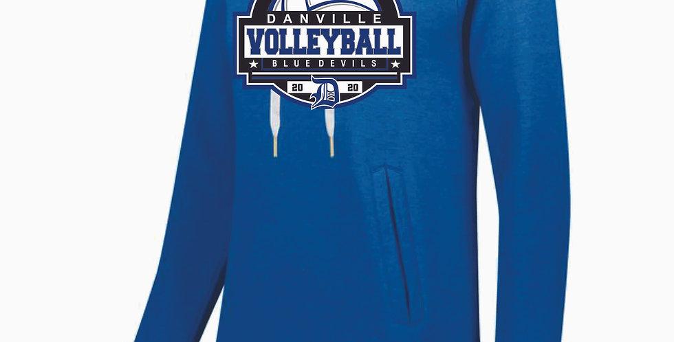 Danville Volleyball Ladies Royal Hood