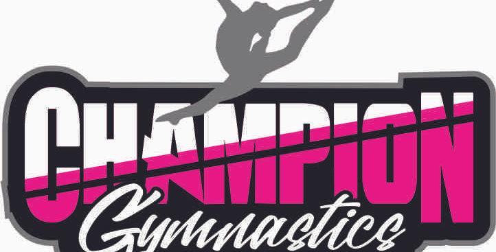 Champion Gymnastics Window Decal